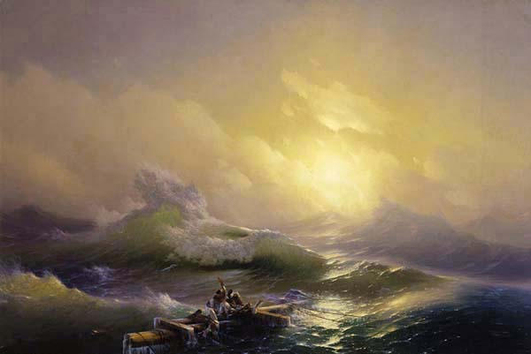 fine art giclee print poster The Ninth Wave Aivazovsky various sizes