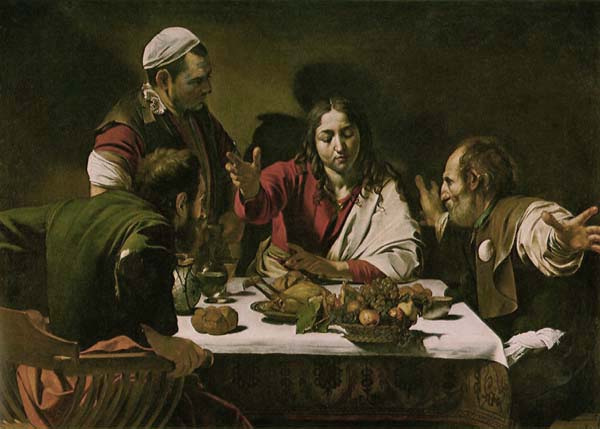 [Caravaggio Prints - The Supper at Emmaus]