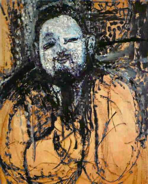 [Modigliani Prints - Portrait of Diego Rivera]