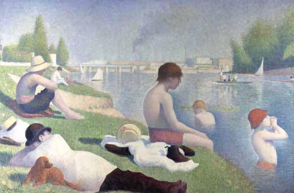 [Seurat Prints - Bathers at Asnieres]