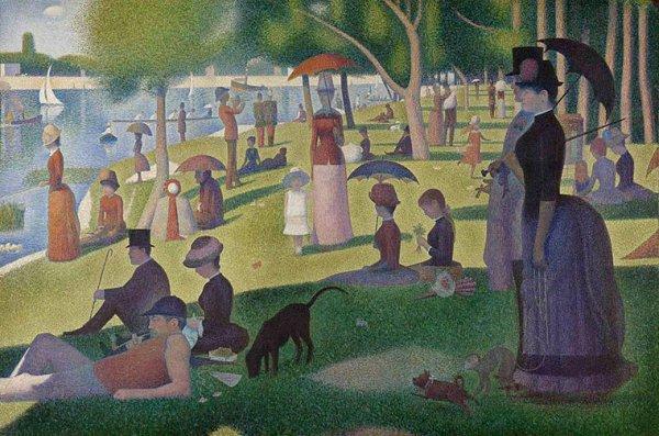 [Seurat Prints - Sunday Afternoon on the Island of La Grande Jatte]