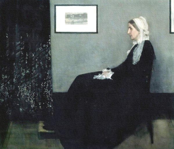 [Whistler Prints - Arrangement in Grey and Black No.1, Portrait of the Artist's Mother]