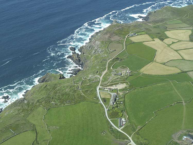 [Botallack - Aerial View]