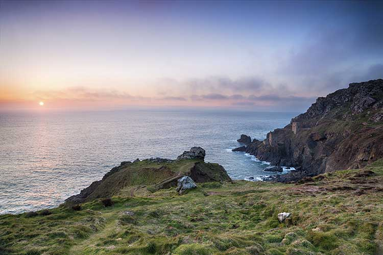 [Botallack - Crowns Engine Houses #14, Sunset]