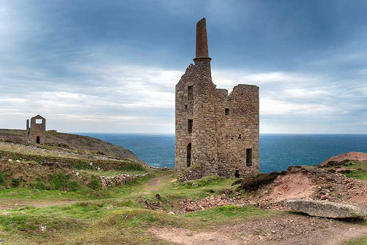 [Botallack - Wheal Owles with Wheal Edward]