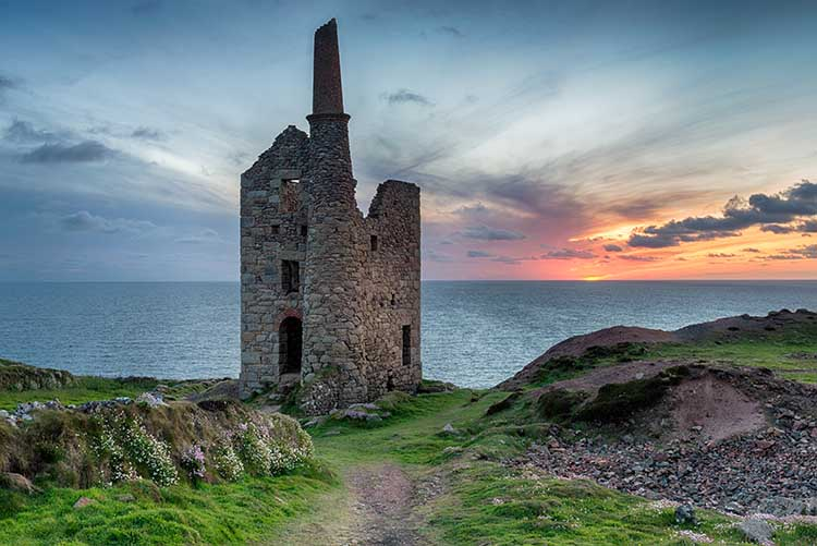 [Botallack - Wheal Owles, Sunset #2]