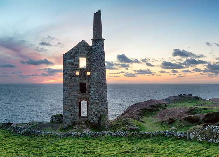 [Botallack - Wheal Owles, Sunset #3]