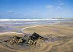 [Godrevy - Beach and Lighthouse]