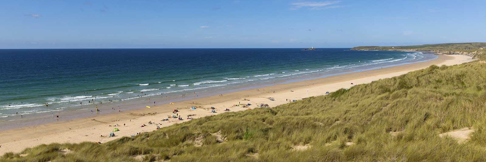 [Godrevy - Gwithian Beach Panorama]
