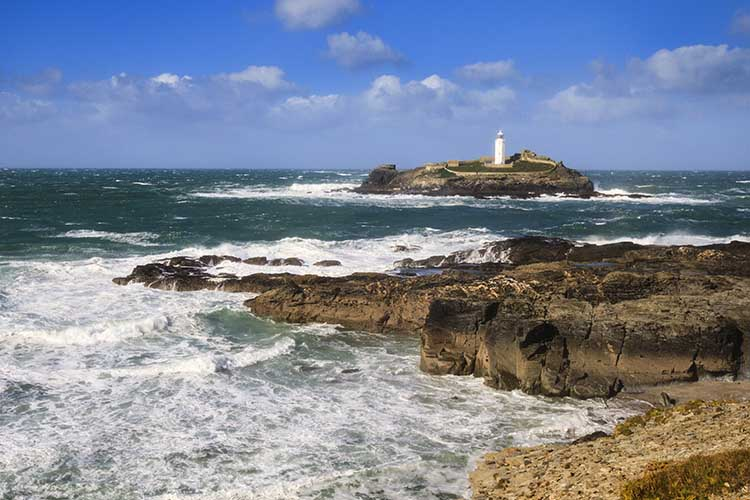 [Godrevy - Island and Lighthouse #4]