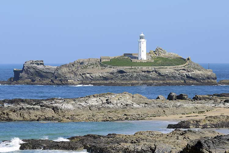 [Godrevy - Island and Lighthouse #9]