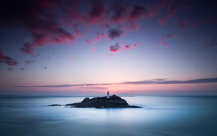 [Godrevy - Sunset #10]