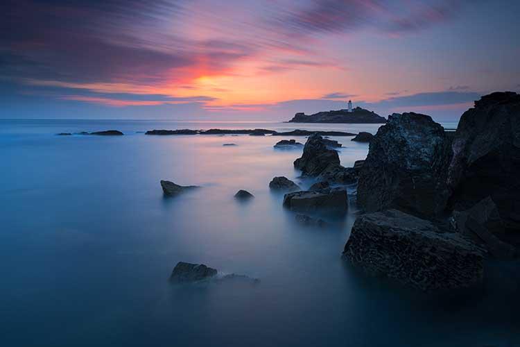 [Godrevy - Sunset #1b]