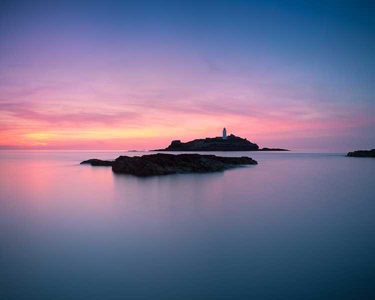 [Godrevy - Sunset #1d]