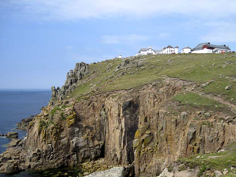[Land's End, Cornwall - Landmark on the Cliffs]