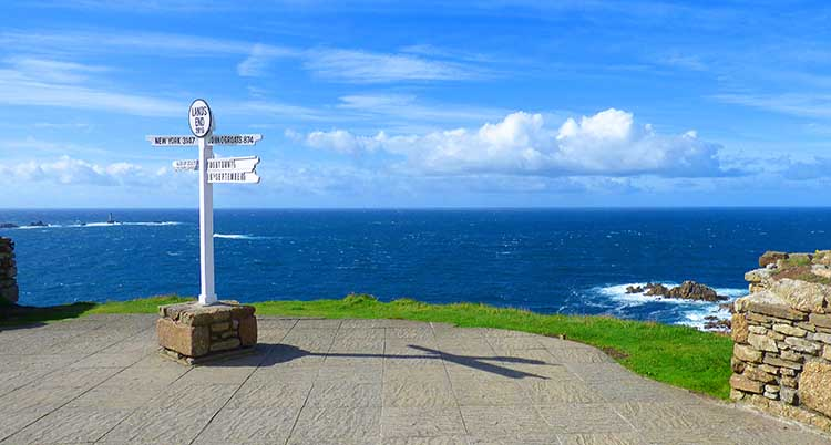 [Land's End - Signpost]