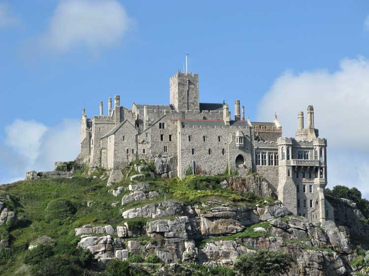 [St Michael's Mount Castle #2]