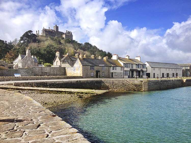 [St Michael's Mount Castle and Village #2]