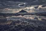 [St Michael's Mount, Stormy Sky]
