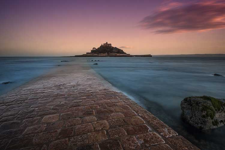 [Marazion - St Michael's Mount, with Causeway]