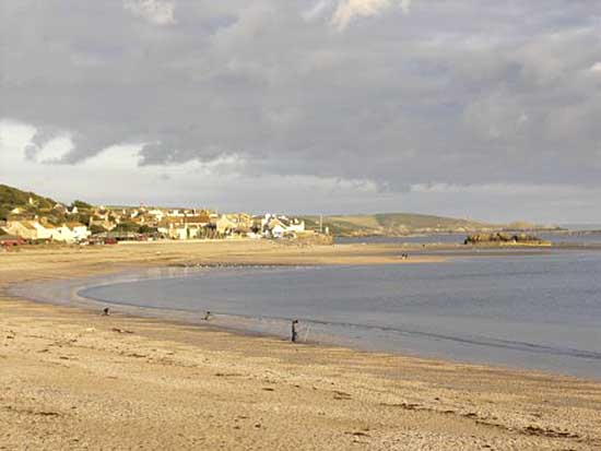 [Photo of Marazion, Penwith, Cornwall - The Beach]