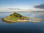 [Aerial View of St Michael's Mount]