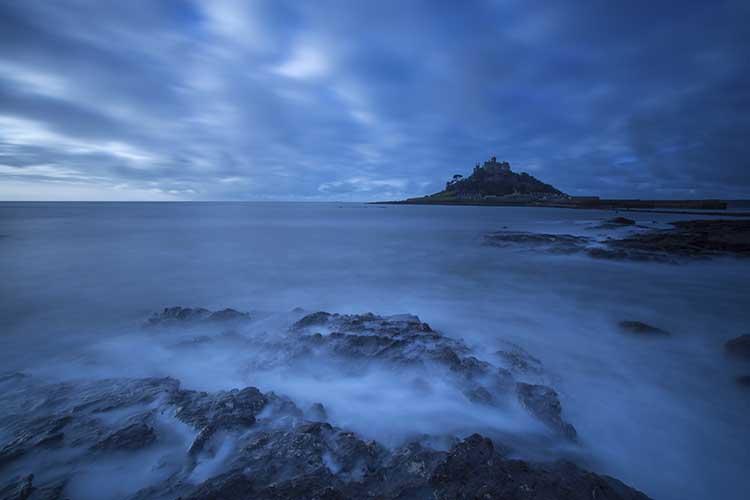 [Marazion, Cornwall - St Michael's Mount, Dawn]