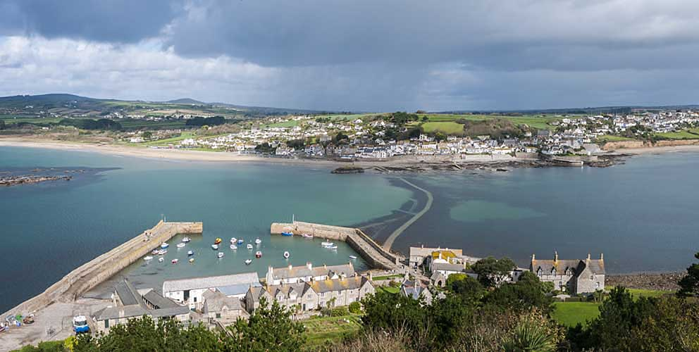 [Marazion, Cornwall - St Michael's Mount Harbour]