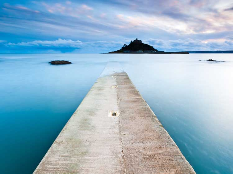 [Marazion - St Michael's Mount from the Jetty]