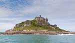 [St Michaels Mount, from the Sea]