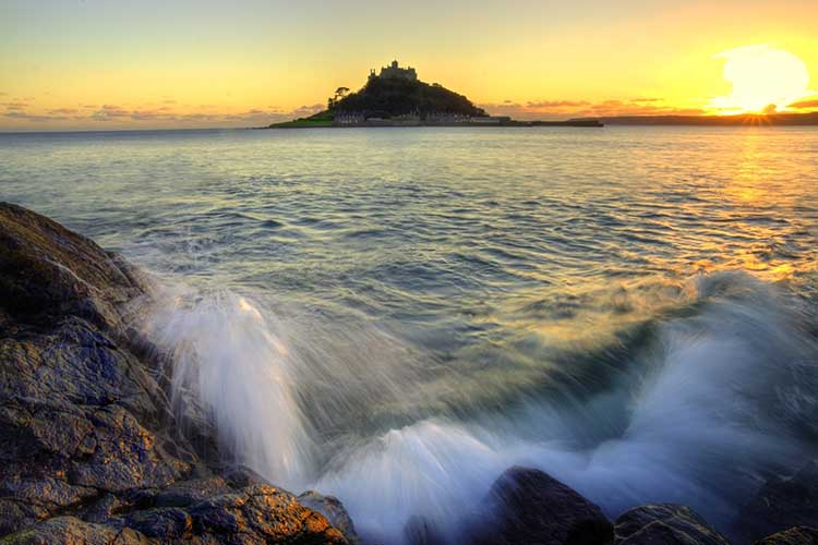 [St Michael's Mount Sunset #2]