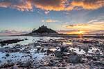 [St Michaels Mount Sunset #4]