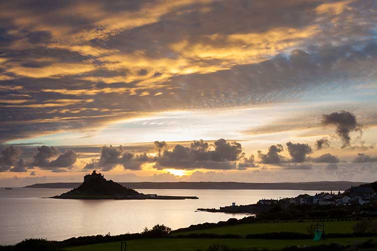 [St Michael's Mount Sunset #1]