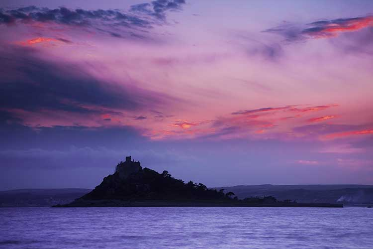 [Marazion, Cornwall - Sunrise at St Michael's Mount #2]