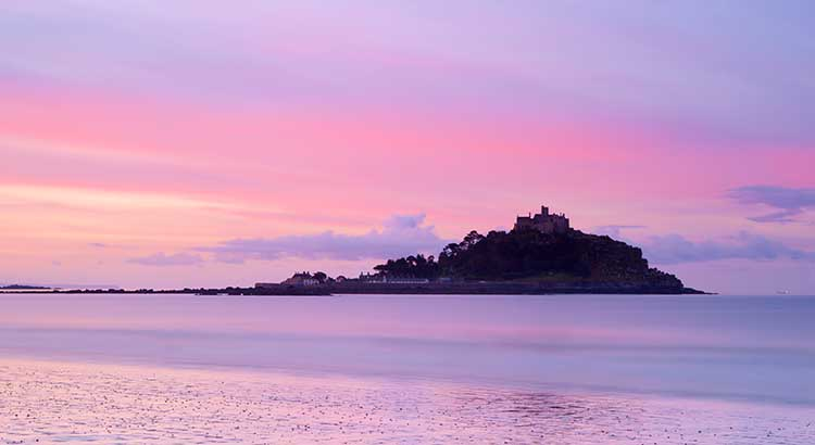 [Marazion, Cornwall - Sunrise at St Michael's Mount #3]