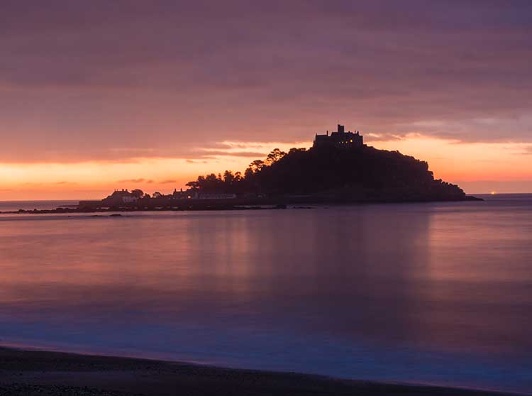 [Marazion, Cornwall - Sunrise at St Michael's Mount #5]