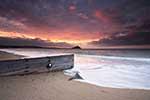 [Sunrise at St Michaels Mount #6, Winter]