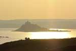 [Sunrise Glow at St Michaels Mount]