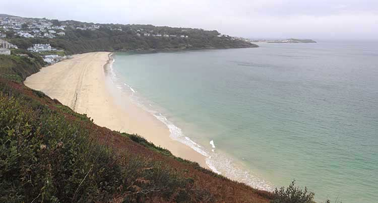 [Carbis Bay Beach #2, Looking East]