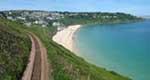 [Carbis Bay Beach, Looking East]