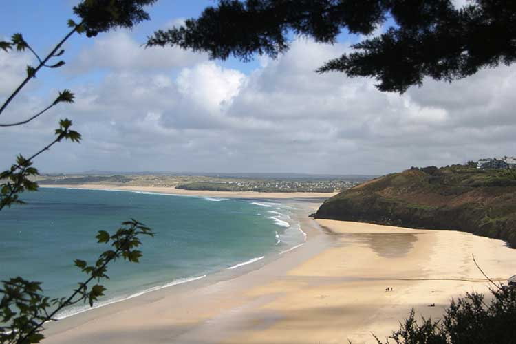 [Carbis Bay Beach, Looking West]