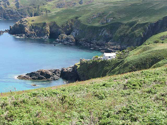 [Cove Cottage on Lean Point by Gurnard's Head]