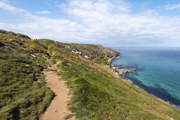 [Coast Path to Pen Enys Point]