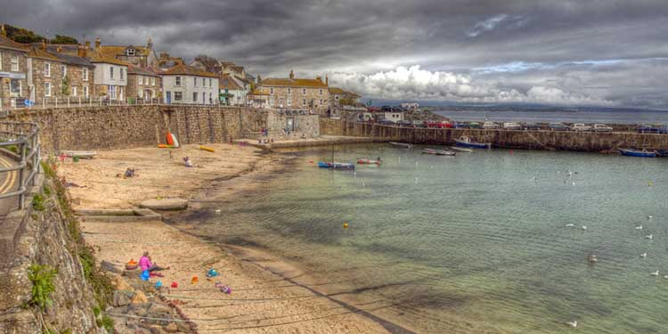 [Mousehole Harbour and Beach]