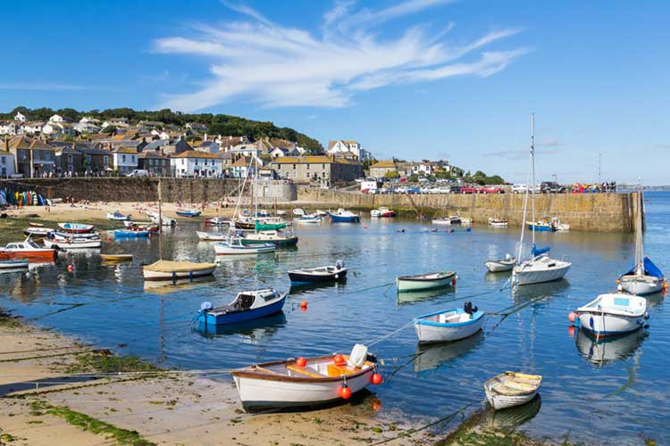 [Mousehole Harbour, Summer's Day]