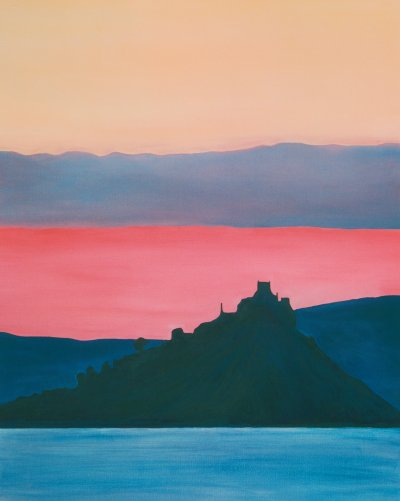 St Michael's Mount, Cornwall, Day Breaking