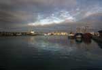 [Newlyn Harbour at Dusk]