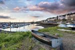 [Newlyn Harbour with Boat]