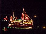 [Newlyn Christmas Lights - Boat on the Slip #2]