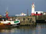 [Newlyn Harbour with Lighthouse]